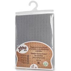 XKKO bambus prevlaka s elastikom, 50 x 70 cm, Silver, siva
