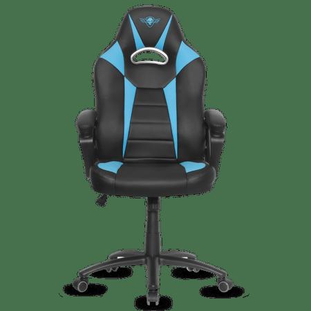 Spirit of Gamer gaming stol Fighter, črn/moder