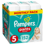 2 - Pampers hlačne plenice Pants 5 mesečno pakiranje, 11 - 18 kg, 152 kosov