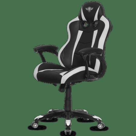 Spirit of Gamer gaming stol Racing, črn/bel