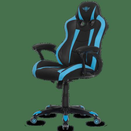 Spirit of Gamer gaming stol Racing, črn/moder