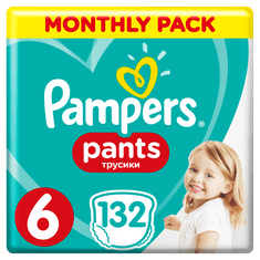 Pampers Pieluchomajtki Active Baby Pants 6, 132 szt.