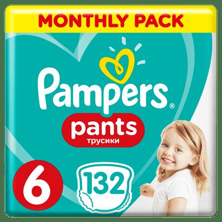 Pampers Pieluchomajtki Active Baby Pants 6, 132 szt.