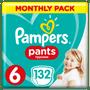 1 - Pampers Pieluchomajtki Active Baby Pants 6, 132 szt.