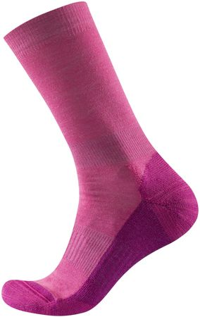 Devold nogavice Multi Medium Woman Sock Cerise, roza, 35-37