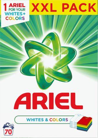 Ariel pralni prašek White & Color, 5.25 kg, 70 pranj