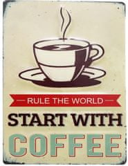 """Sifcon Tabulka """"Start with coffee"""""""