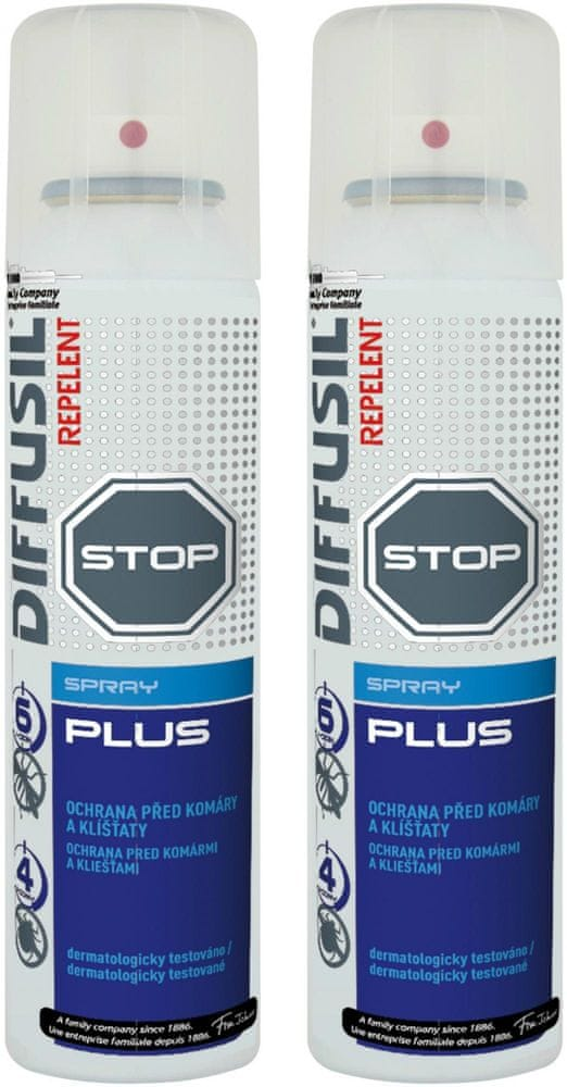 DIFFUSIL Repelent Plus 2x 100 ml
