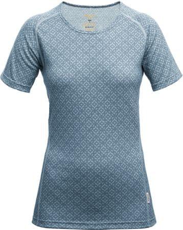 Devold ženska majica s kratkimi rokavi Breeze Woman T-Shirt Night, XS