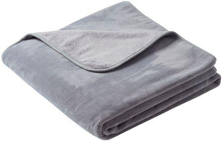 Biederlack odeja Pure Soft, 150 x 200 cm, siva