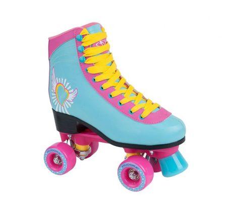 Hudora kotalke Disco Skate Wonders, 39 - 40, roza/modre