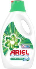 Ariel tekoči detergent Mountain Spring, 50 pranj