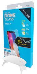 Whitestone zaščitno steklo Dome Glass za Apple iPhone X z UV svetilko