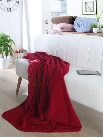 Biederlack odeja Pure Soft, 180 x 220 cm, krem