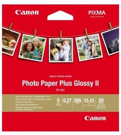 Canon foto papir PP-201, 13x13cm, 260g/m2, 20 listov