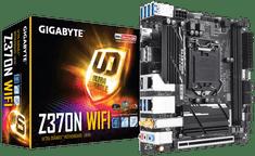 Gigabyte osnovna plošča Z370N Ultra Durable, DDR4, SATA3, USB3.1 Gen1, LGA1151, Mini-ITX