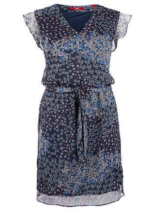 s.Oliver dámské šaty 36 tmavě modrá