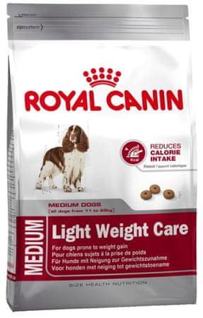 Royal Canin sucha karma dla psa Medium Light 27 - 13kg