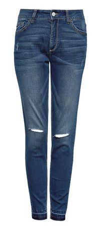 Q/S designed by női farmer 34 kék