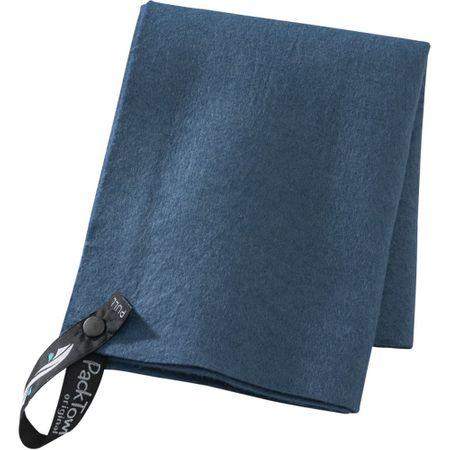 PackTowl hitro sušeča brisača Original, modra, M