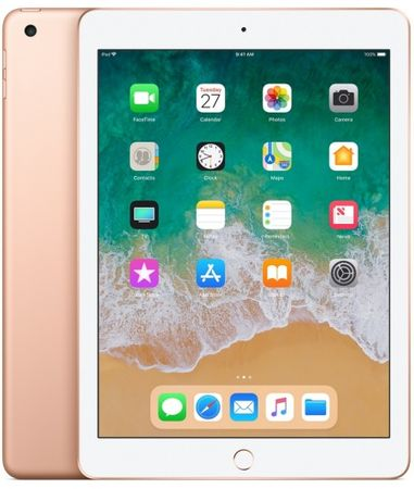 Apple iPad 6 9.7 Cellular, 128 GB, Gold