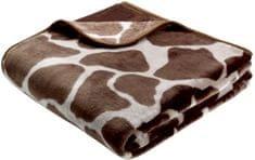 Biederlack Simply Luxury Giraffe kocyk 150x200 cm