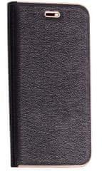 Havana preklopna torbica Premium za LG Q6, črna