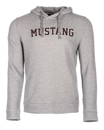Mustang férfi pulóver Fancy L szürke  c899260b31