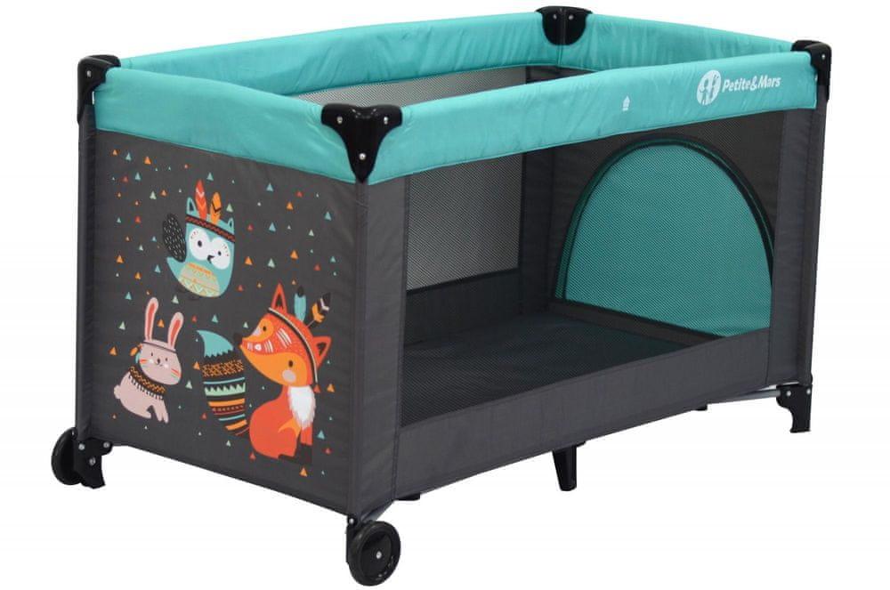 Petite&Mars Koot, Fox Aqua
