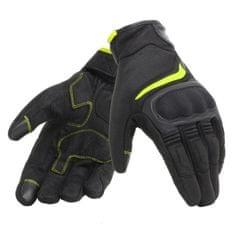 b9bb8223f2d Dainese letní moto rukavice AIR MASTER černá fluo-žlutá