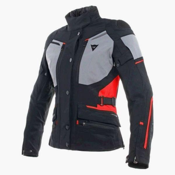 Dainese bunda dámská CARVE MASTER 2 GORE-TEX LADY vel.46 černá/šedá/červená