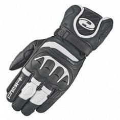 Held sport moto rukavice  REVEL 2 černá/bílá, kozí kůže