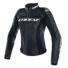 Dainese RACING 3 LADY dámska kožená bunda na motorku, čierna