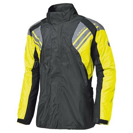 Held nepremokavá bunda  HAZE čierna/fluo žltá