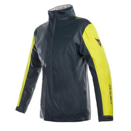Dainese nepromokavá dámská bunda STORM LADY vel.XS černá/fluo-žlutá