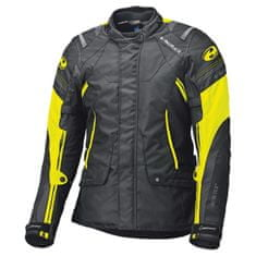 Held pánska moto bunda  MOLTO Gore-Tex čierna/fluo žltá