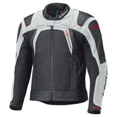 Held pánska šport moto bunda  HASHIRO 2 čierna/biela, koža/textil