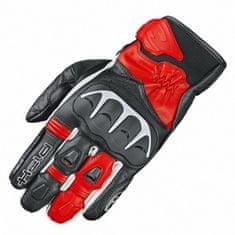 Held sport moto rukavice  DASH černá/červená, kozí kůže