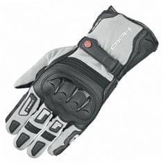 Held enduro rukavice  SAMBIA 2v1 GORE-TEX na motorku, šedá/černá, textil/klokaní kůže