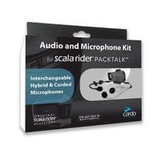 Cardo základna pro integrální/otevřené přilby pro Cardo SCALA RIDER PACKTALK/SMARTPACK (1ks)