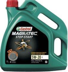 Castrol motorno olje Magnatec Stop-Start 5W-20 E, 4L