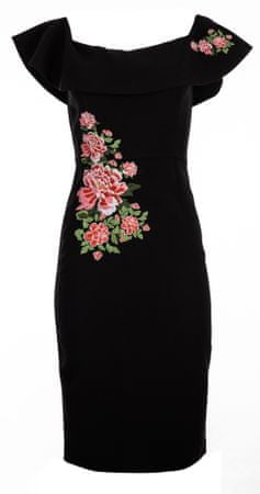 Desigual ženska obleka Marina 42 črna