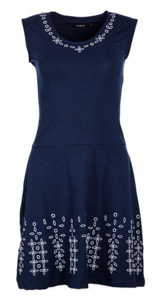 7e4854deb3f7 Desigual dámské šaty Fanny S tmavě modrá