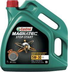 Castrol motorno olje Magnatec Stop-Start 5W-30 C2, 4L