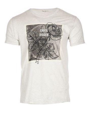 Pepe Jeans moška majica Ladbroke L svetlo siva