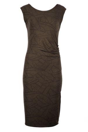 Timeout ženska obleka, rjava, 42