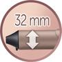 9 - Remington kodralnik za lase PROluxe CI9132, 32 mm
