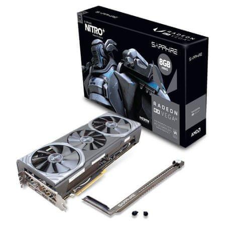 Sapphire grafična kartica NITRO+ Radeon RX Vega 64 8GB HBM2, PCI-E 3.0