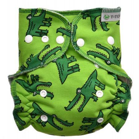 T-Tomi Přebalovací set patentky, Crocodiles