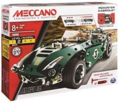 MECCANO Samochód sportowy z chowanym silnikiem